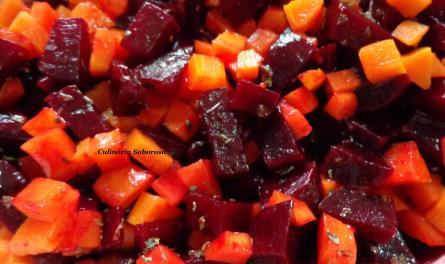 salada de beterraba e cenoura